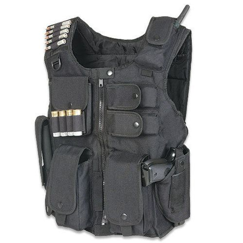 Again If You Have Time, Put This On Before You Grab Your #Bug Out Bag!UTG Law Enforcement SWAT Vest