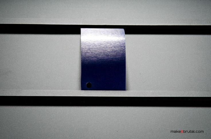 Brushed Steel Blue /7/