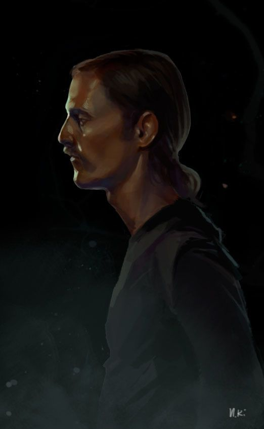 true detective fan art, Irina Kovalenko on ArtStation at https://www.artstation.com/artwork/PN8D8