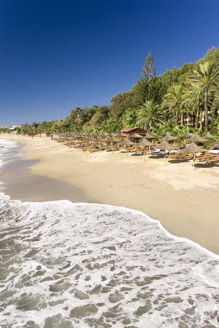 Las playas (the beaches) de #Marbella (Costa del Sol, Málaga). www.granmarbellaconsulting.com