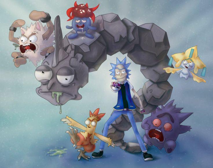 Rick and Morty x Pokemon