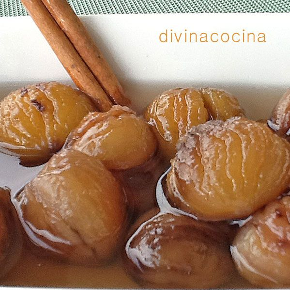 Esta compota de castañas así preparada puede conservarse en tarros durante meses. Es un dulce tradicional y delicioso si lo consumes solo, pero puede acompañar quesos, membrillos y batatas asadas...