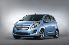 2014 Chevrolet Spark EV unveiled at the 2012 LA Auto Show