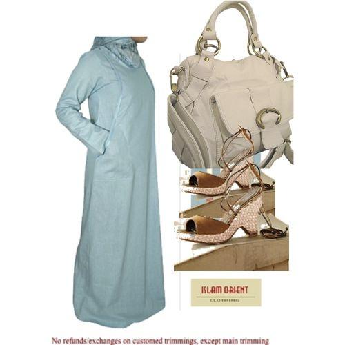 Nice summer abaya set: Abayas Sets, Summer Abayas, Nice Summer