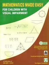 """""""Mathematics Made Easy for Children with Visual Impairment"""" is full of information and practical strategies for teaching #math to students who are #blind or visually impaired.  It is available as a free download on the ICEVI website."""