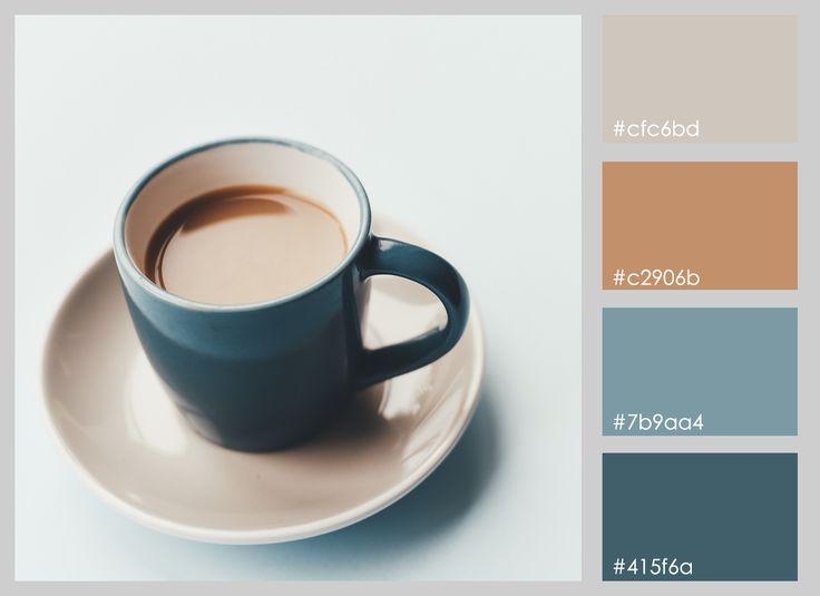 Resultado de imagen para paleta de colores cafe