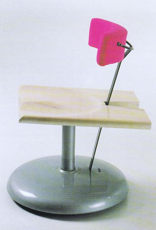 Javier Mariscal And Pepe Courets, Trampolin Chair, For Akaba, 1986
