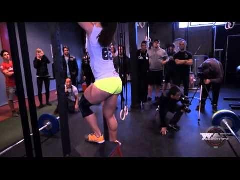Camille Leblanc-Bazinet Championne Mondiale Crossfit Demo - YouTube
