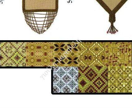 Σχέδια με χάντρες για να κεντήσετε τους μονταρισμένους καμβάδες.Γιούλη Μαραβέλη-Χαλκίδα.Τηλ:22210 74152.