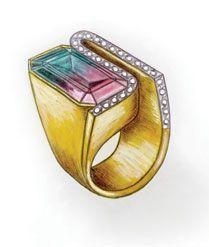 cursos de joalheria - ourivesaria - desenho de joias