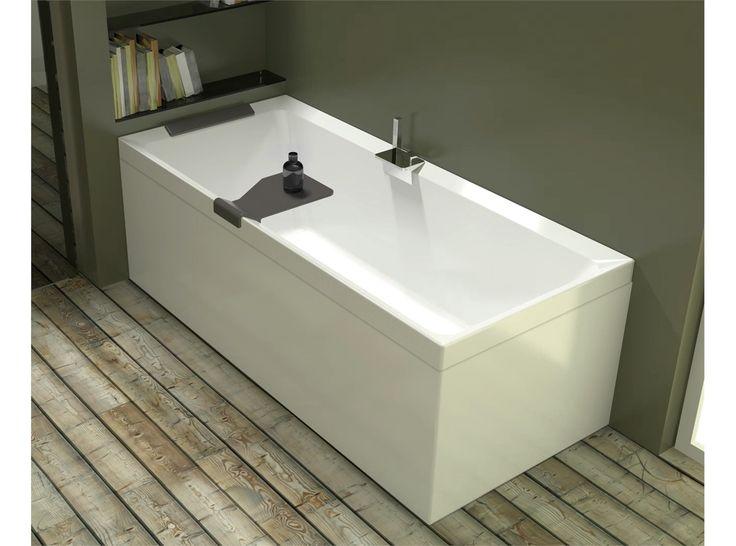 6315129 Novellini  Novellini Diva Soft Matt Badekar 1700x700 mm. Uten badekararmatur