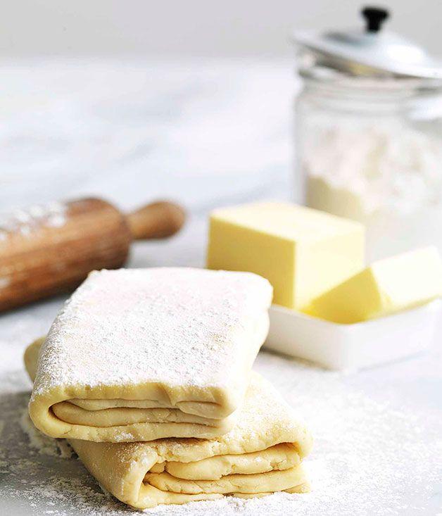 Australian Gourmet Traveller recipe for rough puff pastry.