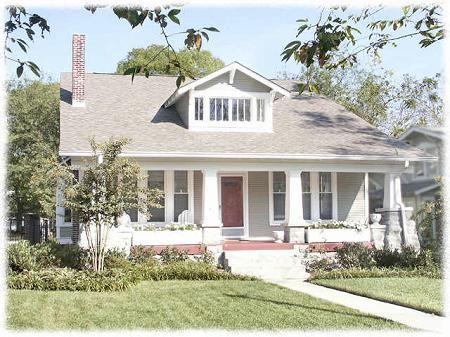 1920 Bungalow, Nashville, Tennessee.   Historic Richland/West End neighborhood.