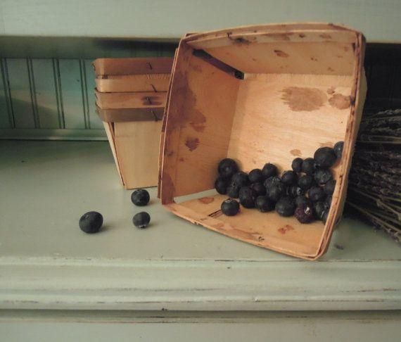 Vintage Berry ceste o casse di Berry / Split legno on Etsy, 6,06€