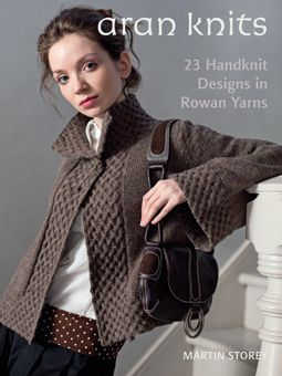 Aran Knits - love to get my hands on this pattern book! The sweater on the front is just beautiful!