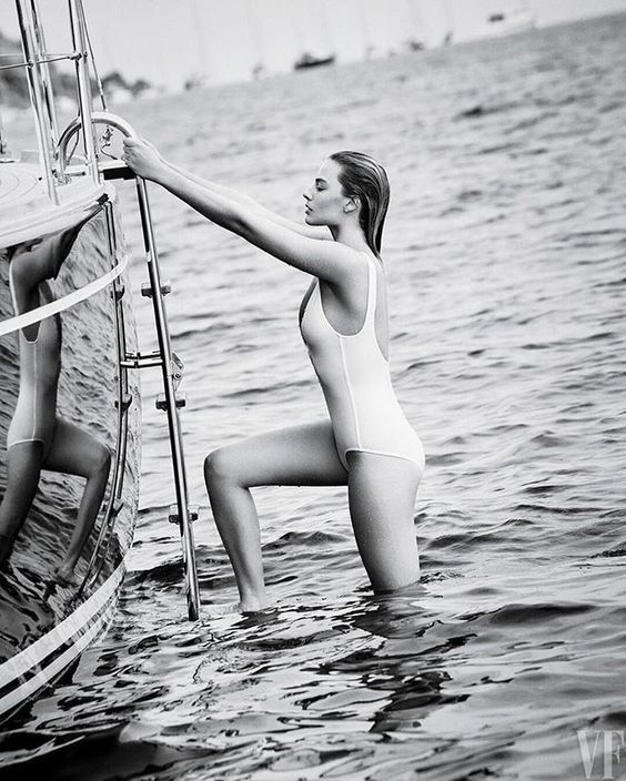 Leaving the water in style in our Delicious one piece... Tarzan girl Margot…