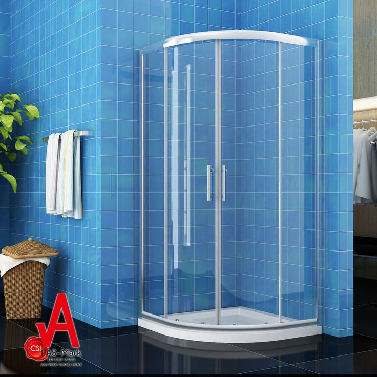 800X800X1900mm Curved Sliding Shower Screen Enclosure with Matching Shower Base in Home & Garden, Building Materials & DIY, Plumbing & Fixtures | eBay!