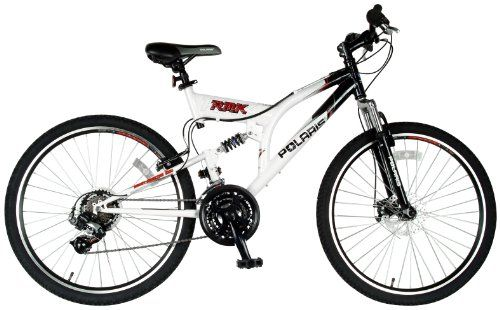Polaris RMK Mountian Bike (White/Black, 26 X 19-Inch) - http://mountainbikesforsales.com/polaris-rmk-mountian-bike-whiteblack-26-x-19-inch/