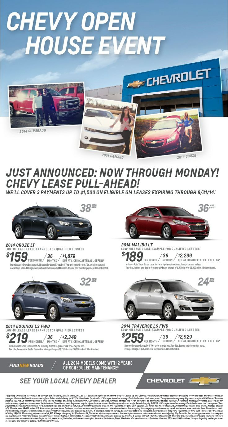 Are you eligible for the chevy lease pull ahead program ask village chevrolet today