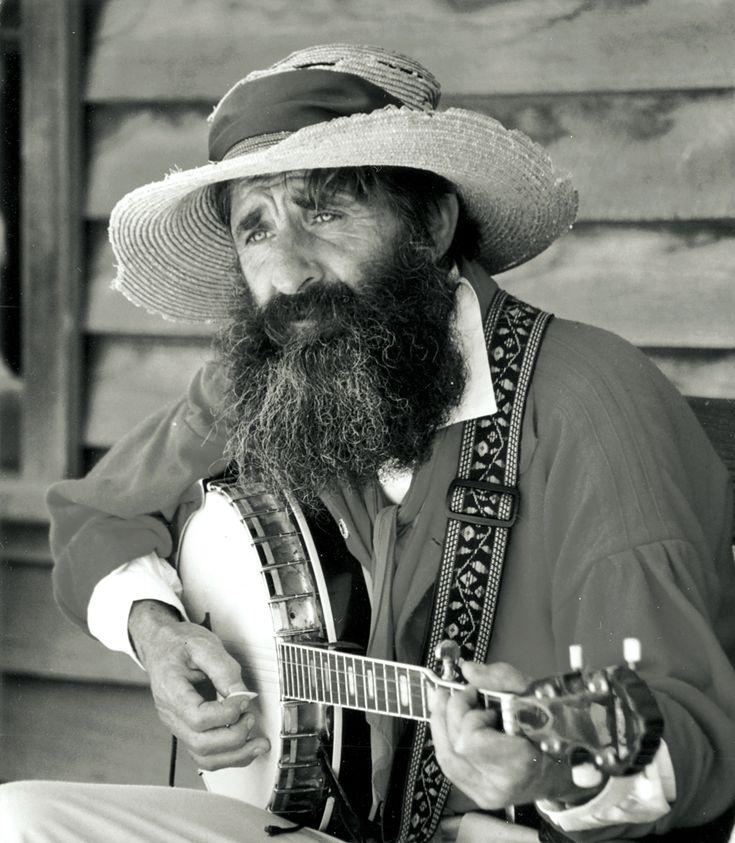 Australian banjo player
