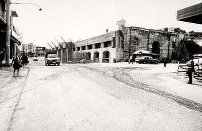 Heraklion, during the construction of the new gate