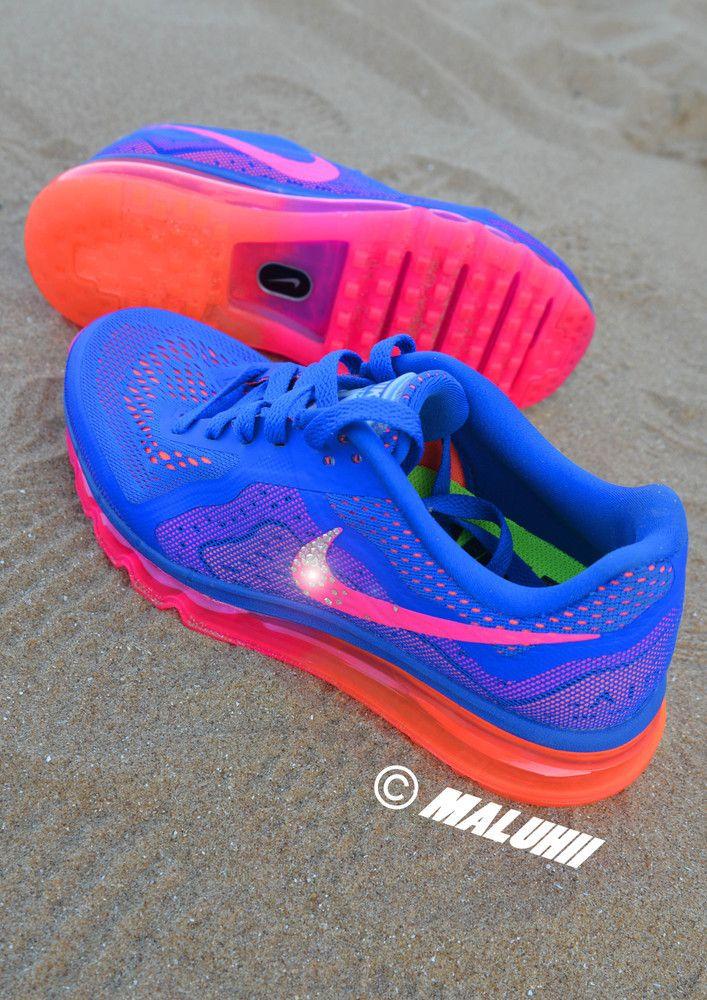 Maluhii Custom Swarovski Nike Air Max 2014