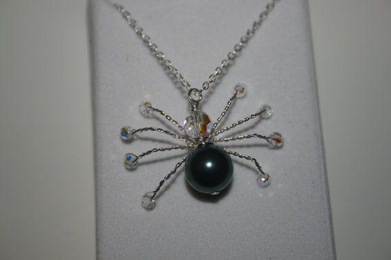Handmade 'Ari' Swarovski Crystal and Pearl by LHadyoonJewellery, £28.00