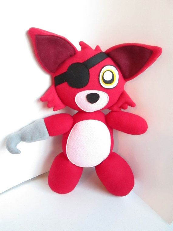 Foxy Plush Inspired by Five Nights At Freddy's  (Unofficial) FNAF Plush
