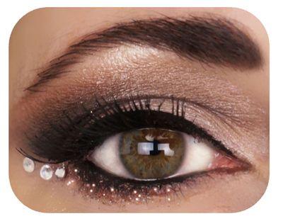 Maquillage de fêtes / Look Romantique et Glamour Christmas make up
