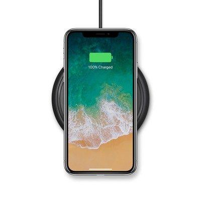 mophie presenta base de carga inalámbrica para iPhone 8 iPhone 8 Plus y iPhone X    CONDADO DE ORANGE California PRNewswire/ - mophie una marca de ZAGG Inc y la marca de fundas con batería para móviles de mayor venta en los Estados Unidos(1) anunció la base de carga inalámbrica mophie una almohadilla de carga inalámbrica universal que brinda una experiencia de carga rápida y sencilla para iPhone 8 iPhone 8 Plus y iPhone X.  La base de carga inalámbrica mophie estará disponible en apple.com…