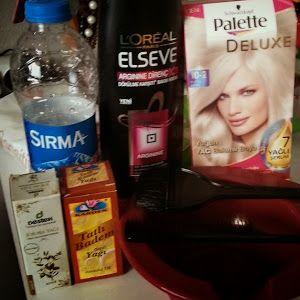 Ben,Rujum Ve Allığım...: Sarı saçlara küllü cila nasıl yapılır? │Küllü platin sarısı pigmentasyon,mimleks