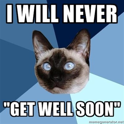 """Chronic Illness Cat - """"I'm a young woman who sometimes walks with a cane, and I get this from well-meaning strangers. I never know how to respond."""" - Could have written this!"""