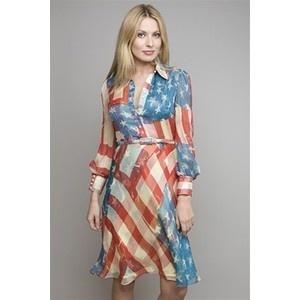 Tutu Divine American Flag Dress Catherine Malandrino Dress Flag Dress