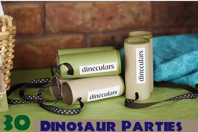 binoculos dinossauros