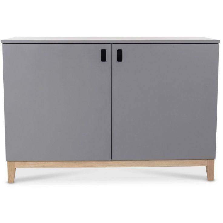 Köp - 2995kr! Holger Sideboard - Grå/Ek. Holger är en serie med moderna och praktiska möbler byggda