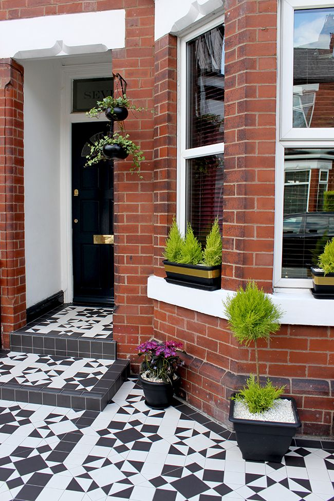Great Front Of House: The Front Patio Reveal Design Inspirations