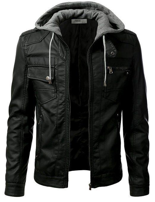 WARDROBE - IDARBI Urban Knight Jacket with Detachable Hood