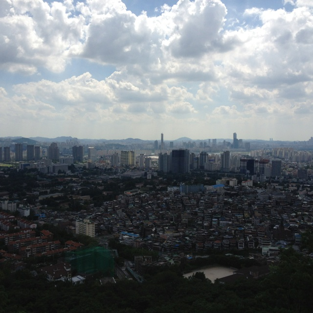 View of gangnam, seoul.