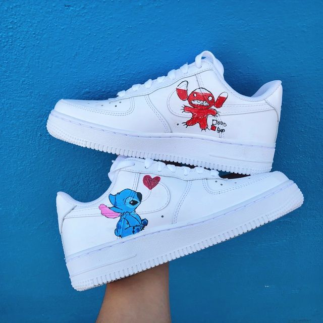 air force 1 con stitch