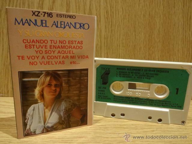 MANUEL ALEJANDRO Y SU GRAN ORQUESTA. MC / TRONIC - 1976. CALIDAD LUJO.