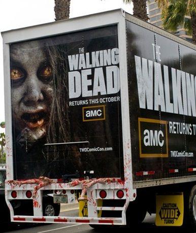 walking dead truck