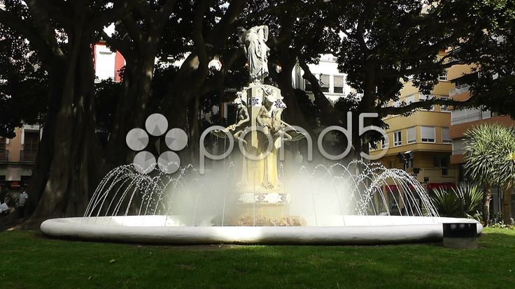 Alicante Spain 37 Plaza Gabriel Miro fountain - http://www.pond5.com/stock-footage/31826207/alicante-spain-37-plaza-gabriel-miro-fountain.html?ref=boscorelli