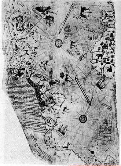 Huge Discover Hidden In A Map Of The World Pre Continental Split Piri Reis