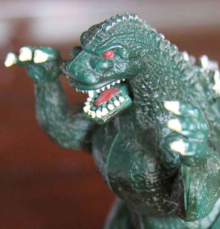 Toho Trendmasters 1994 Wind Up Godzilla Toy Figurine Action Figure - Heisei   eBay