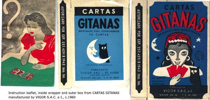 Cartas Gitanas by Vigor, c.1960
