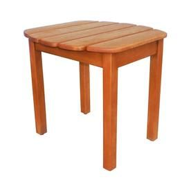 International Concepts Square End Table 18 5 In W X 7 L At Lowes