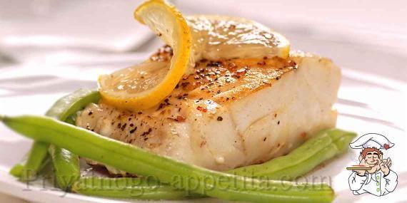 Маринованная рыба в духовке https://priyatnogo-appetita.com/retsepty/vtorye-blyuda/rybnye/item/243-marinovannyi-paltus.html   Маринованная рыба в духовке - очень нежное блюдо, термическая обработка которому нужна только для создания аппетитной корочки на поверхности, а львиную долю функции приготовления на себя берет маринад. Попробуйте, это очень легко, вкусно и самое главное - полезнее не бывает :)  Порций - 4 Время приготовления - 15 минут (+ 2 часа мариновки).  Ингредиенты…