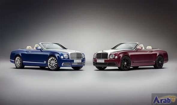 Bentley showcases Mulliner collection