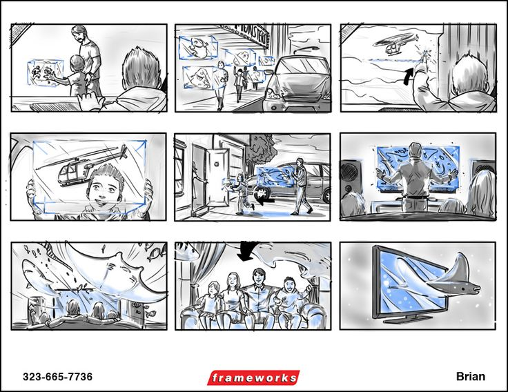 Brian « Storyboard Artists | Story Boards |Art Storyboards | Story Board Artist | Frameworks Artists