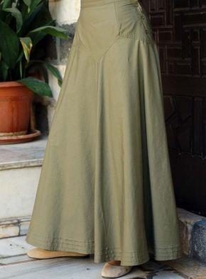 3d52ba30b Resultado de imagen para modelos de faldas largas | Polleras ...
